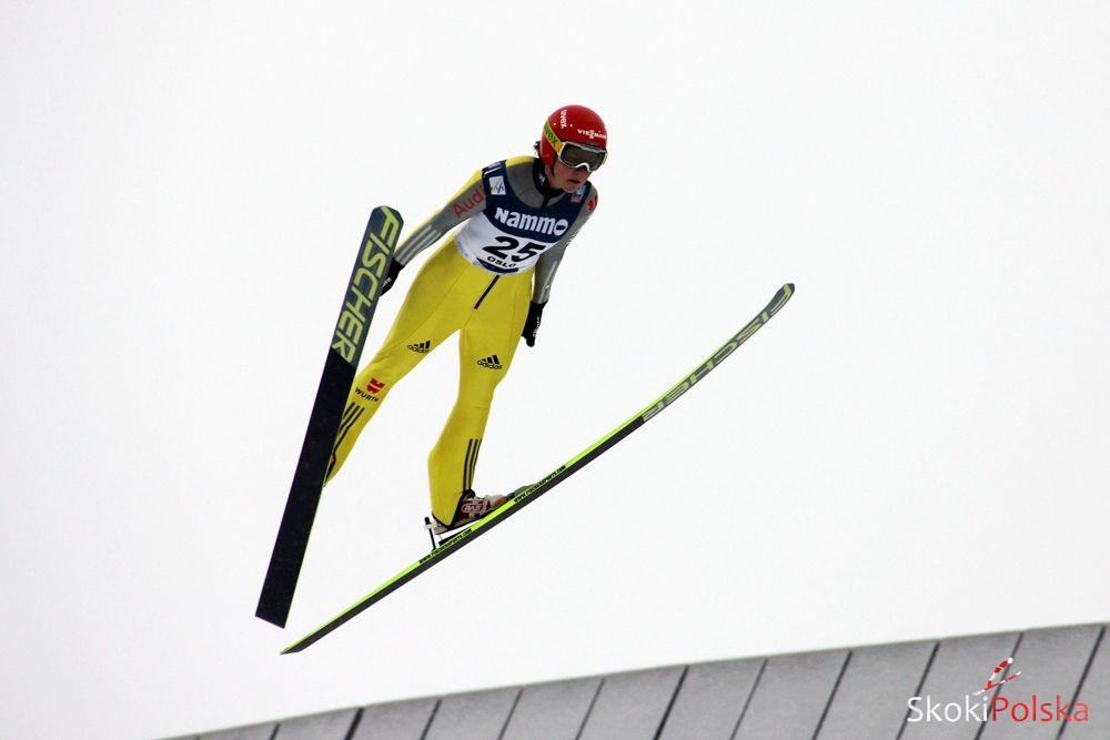 Vogt Carina lot.Oslo Stefan.Piwowar - PŚ Pań Oberstdorf: Treningi dla Vogt i Iraschko-Stolz, rekordowy skok Ito