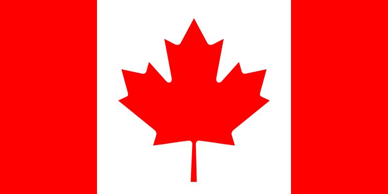 Kanada Flaga - Kadry narodowe mężczyzn
