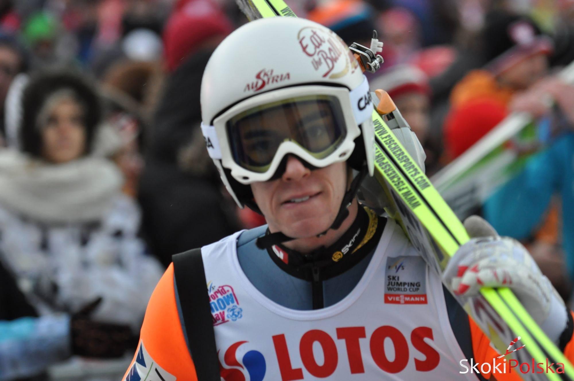 Kraft Stefan B.Leja  - TCS Oberstdorf: Seria próbna dla Krafta, Żyła w dziesiątce