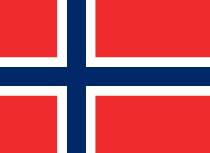 Norwegia Flaga - BYLI SKOCZKOWIE (sportowe biografie)