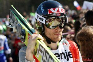 Bjoern Einar Romoeren, rekordzista starej skocznia w Planicy, fot. Julia Piątkowska