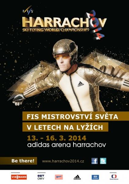 Ski Flying WC Harrachov.2014 cover - MŚ w LOTACH - HARRACHOV 2014 - PROGRAM, LISTA STARTOWA KONKURSU