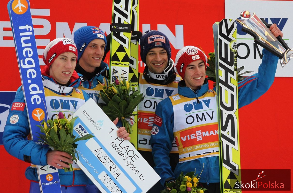 Austria Team J.Piatkowska - Austriacy odkryli karty, Schlierenzauer jednak w kadrze narodowej
