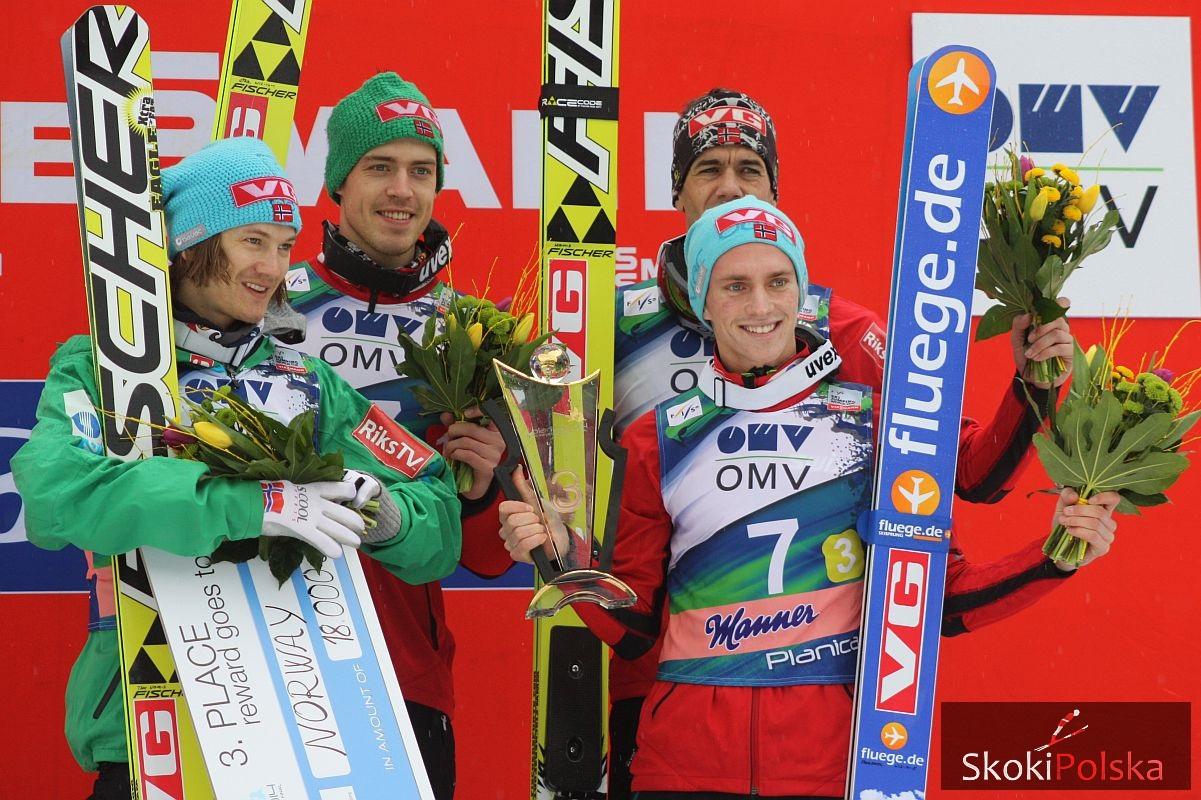 Norwegia Team J.Piatkowska - Ausrtiacy, Niemcy, Polacy i inni. Podsumowanie drużyn w sezonie 2013/2014
