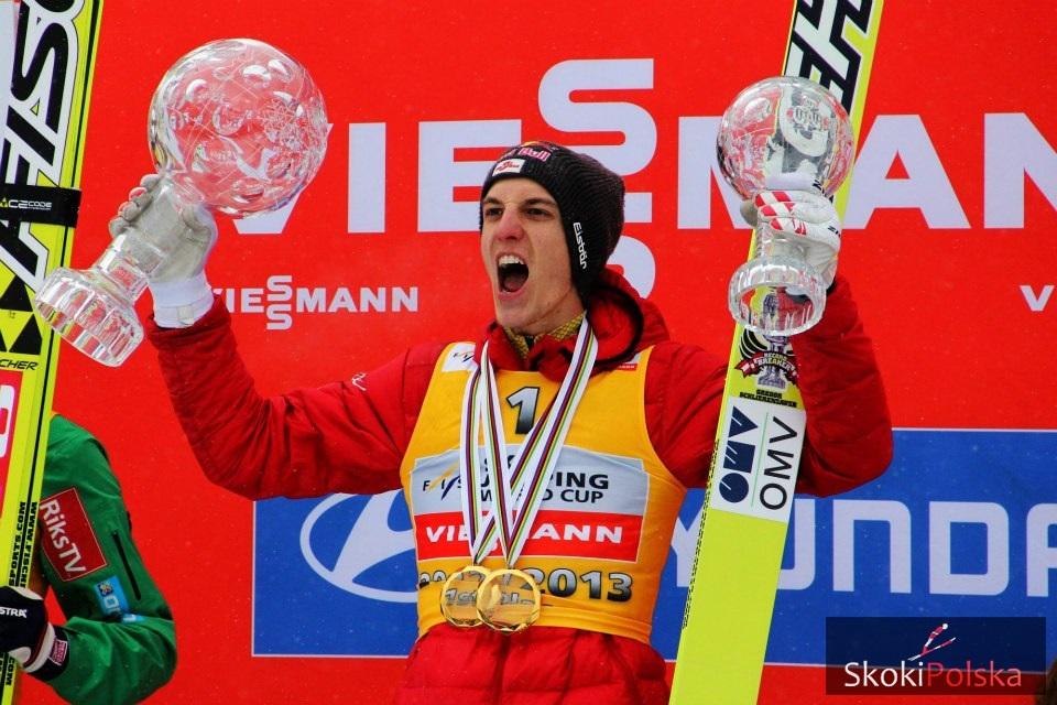 Gregor Schlierenzauer - rekordzista pod względem ilości wygranych konkursów PŚ