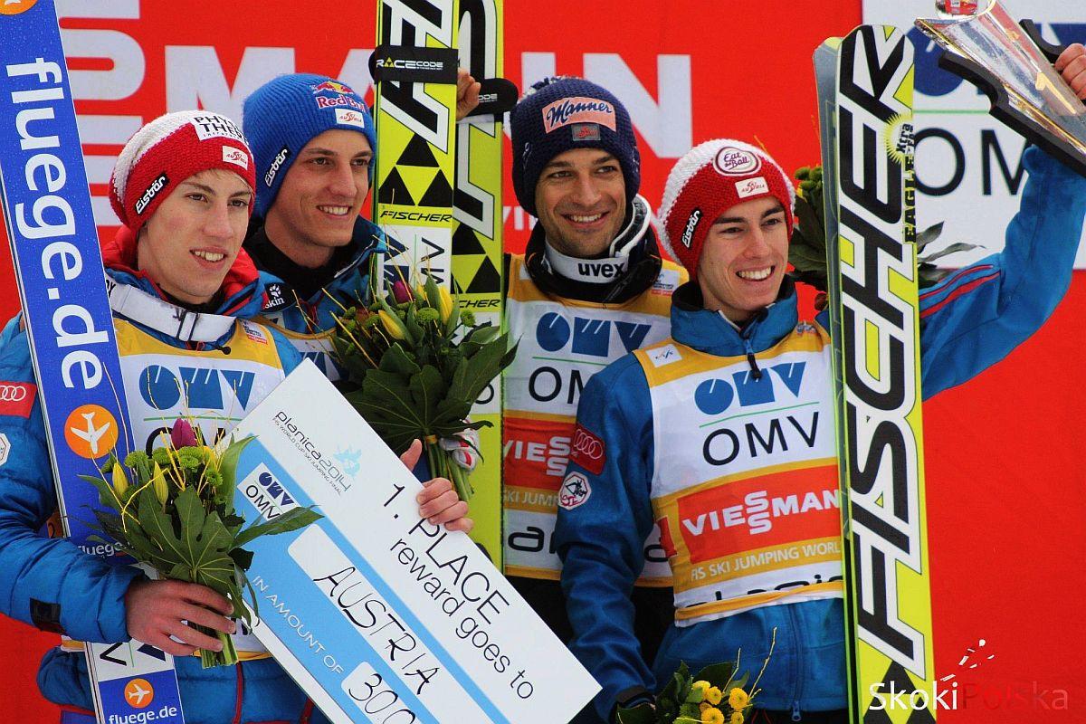 """Austria.Team .Planica - Austriaccy skoczkowie wzięli udział w biegu """"Red Bull 400"""""""