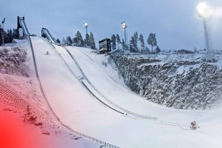Skocznie w Falun (fot. Falun 2015)