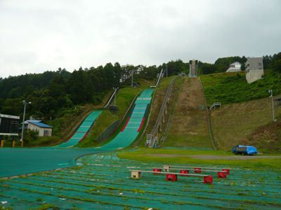 Iiyama Minami fot.skisprungschanzen.com  - Japonia - skocznie