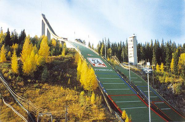 Jyvaskylae fot.skisprungschanzen.com  - Finlandia - skocznie