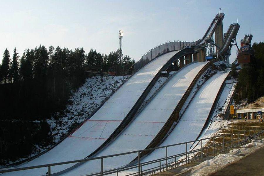Lahti Salpausselkae zima fot.Tuija .Hankkila - 1000 dni do Mistrzostw Świata w Lahti (WIDEO)