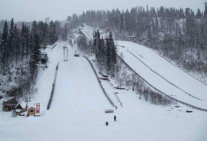 Mezhdurechensk Tramplin.Yugus fot.skijumping.ru  - Rosja - skocznie