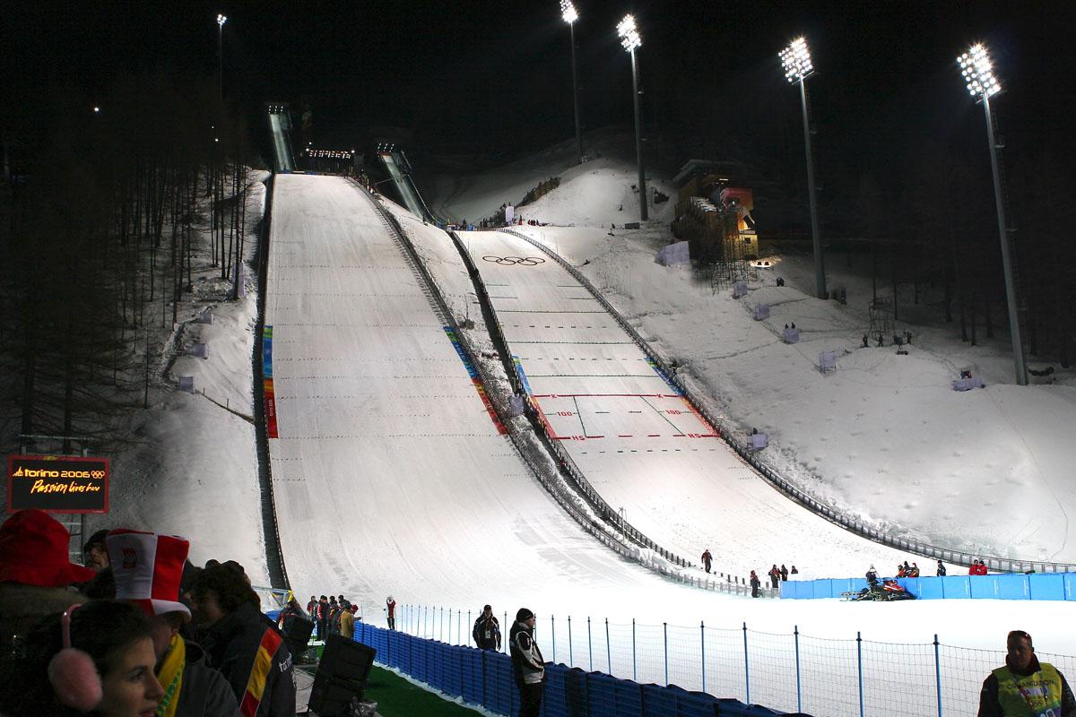 Skocznie olimpijskie w Pragelato (fot. Bryan Geek)