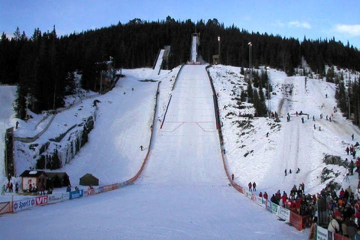 Stryn Nordfjord.Fritidssenter Bjoerkelibakken fot.skisprungschanzen.com  - Norwegia - skocznie