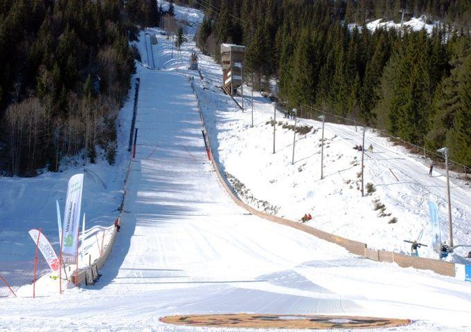 Voss Bavallsbakken fot.skiforbundet.no N.Tomberger - Norwegia - skocznie