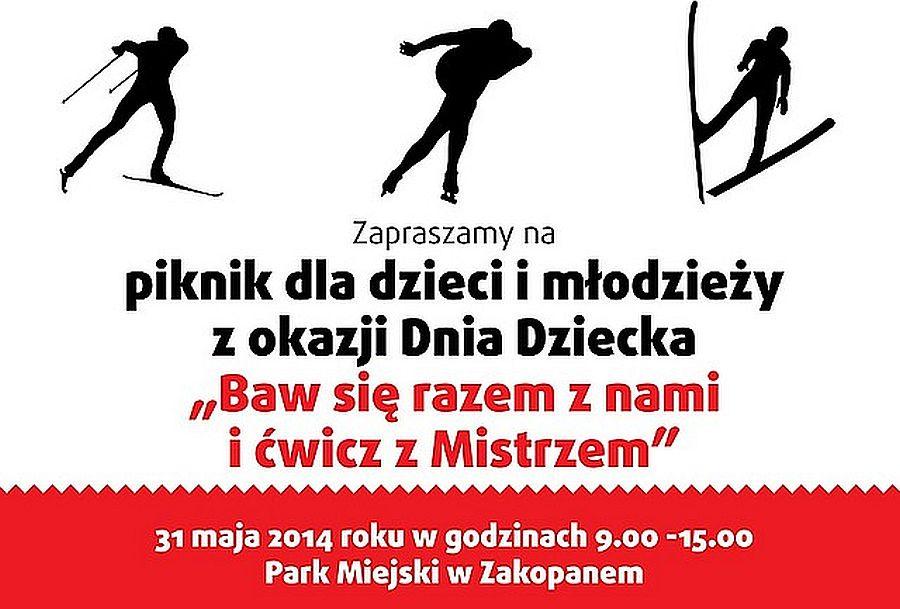 """Zakopane Cwicz.z.Mistrzem.2014 - ZAKOPIAŃSKI PIKNIK """"ĆWICZ z MISTRZEM"""" JUŻ w SOBOTĘ"""