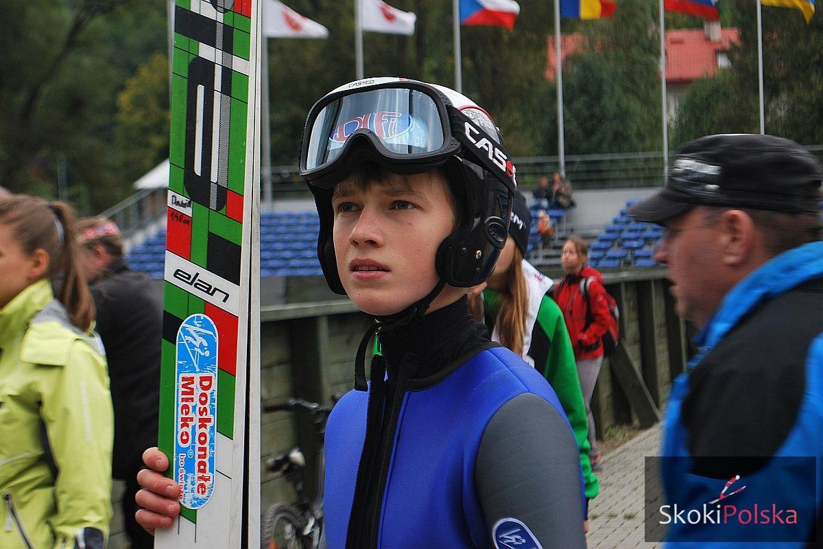 Jarzabek Dawid szczyrk fot.Bartosz.Leja  - FIS Cup VILLACH: DUBLET AIGNERA, PODIUM JARZĄBKA!