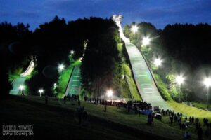Malá Cena: Młodzi Czesi, Słoweńcy i Austriacy skakali w Lomnicy nad Popelkou