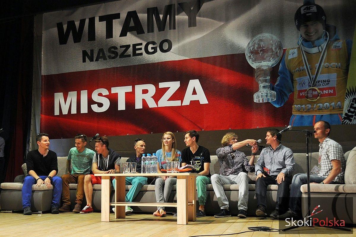 Polska kadra w Proszowicach, fot. Katarzyna Służewska