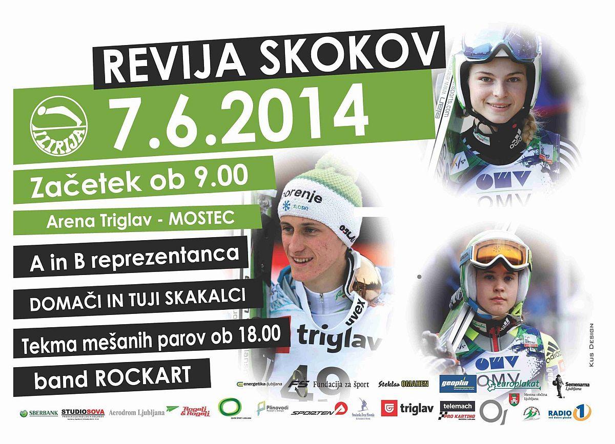 Revija.Skokov Lublana.Mostec.2014.Slovenia - PRZED NAMI MIESZANY KONKURS SKOKÓW w LUBLANIE