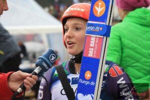 Hinterzarten: Katharina Althaus mistrzynią Niemiec juniorek