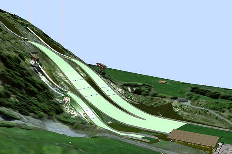 Kandersteg projekt NNSK.Kandersteg - Centrum narciarskie w szwajcarskim Kanderstegu zmodernizowane