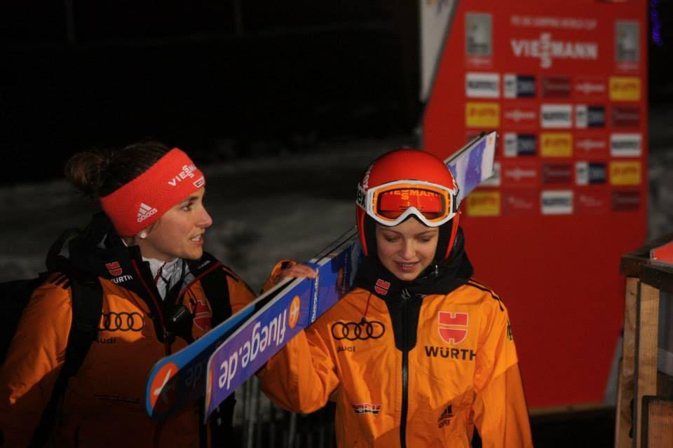 Ernst Gianina F.Clasen - FIS Cup Pań: ERNST NA PROWADZENIU w HINTERZARTEN