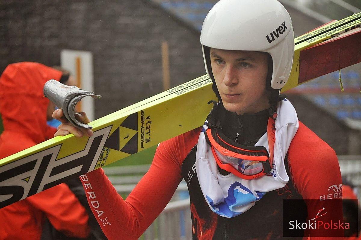 Leja Krzysztof K.Sluzewska - FIS Cup Notodden: dobre skoki polskich juniorów podczas treningów