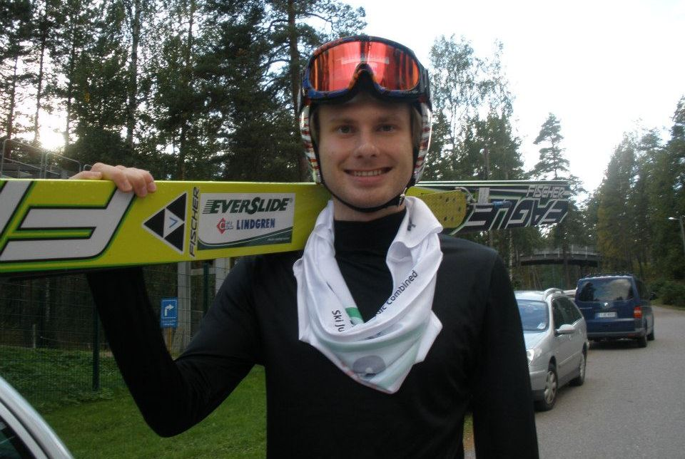 Muotka Olli fot.Tuija .Hankkila - FIS Cup KUOPIO: OLLI MUOTKA WYGRYWA PO RAZ DRUGI