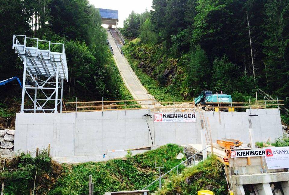Tauplitz Bad.Mitterndorf Kulm Skiflugschanze fot.skifliegen.at skiflug.weltcup.kulm  - Powiększona skocznia w Kulm gotowa w listopadzie?