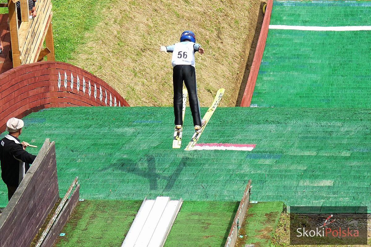 skoczek lato wybicie igielit skok - FIS Schüler Grand Prix Ruhpolding - najmłodsi walczyli o medale, bez Polaków na podium