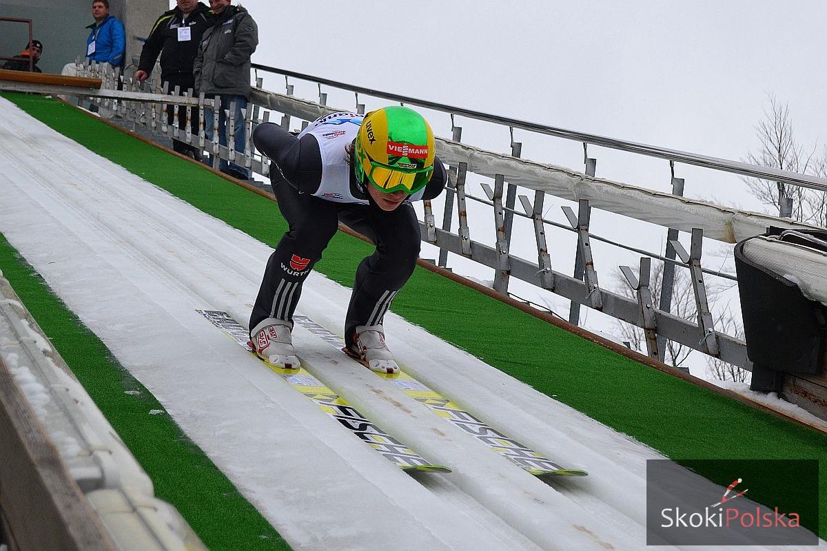 Menz Florian fot.Bartosz.Leja  - Florian Menz i Anna Häfele triumfują w konkursie Pucharu Niemiec w Berchtesgaden