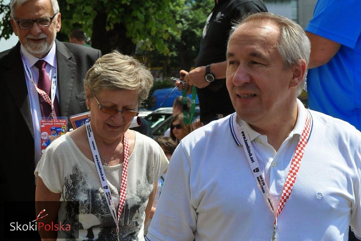 """Stoch.Bronislaw.fot .K.Sluzewska - Bronisław Stoch dla SkokiPolska: """"Największym sukcesem jest to, że Kamil się nie zagubił"""" (cz. 1)"""