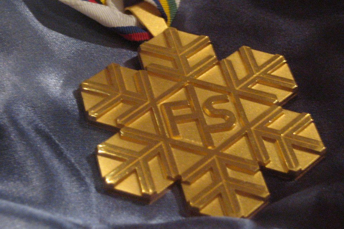 Złoty medal Mistrzostw Świata FIS