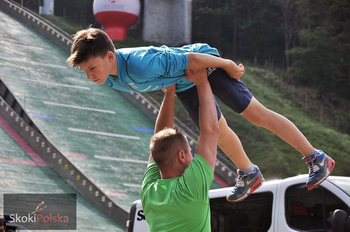 Hutyra Patryk fot.Katarzyna.Sluzewska - Młodzi Polacy wspólnie trenowali i rywalizowali z Niemcami w Bad Freienewalde