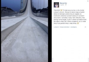 Kot.Maciej.Facebook.Oberstdorf.lato zima 2014 300x210 - Pierwsze skoki Polaków na torach lodowych w Hinzenbach i Oberstdorfie