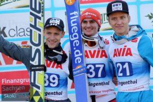 LGP Klingenthal: Freitag wygrywa ostatni konkurs lata, Żyła szósty