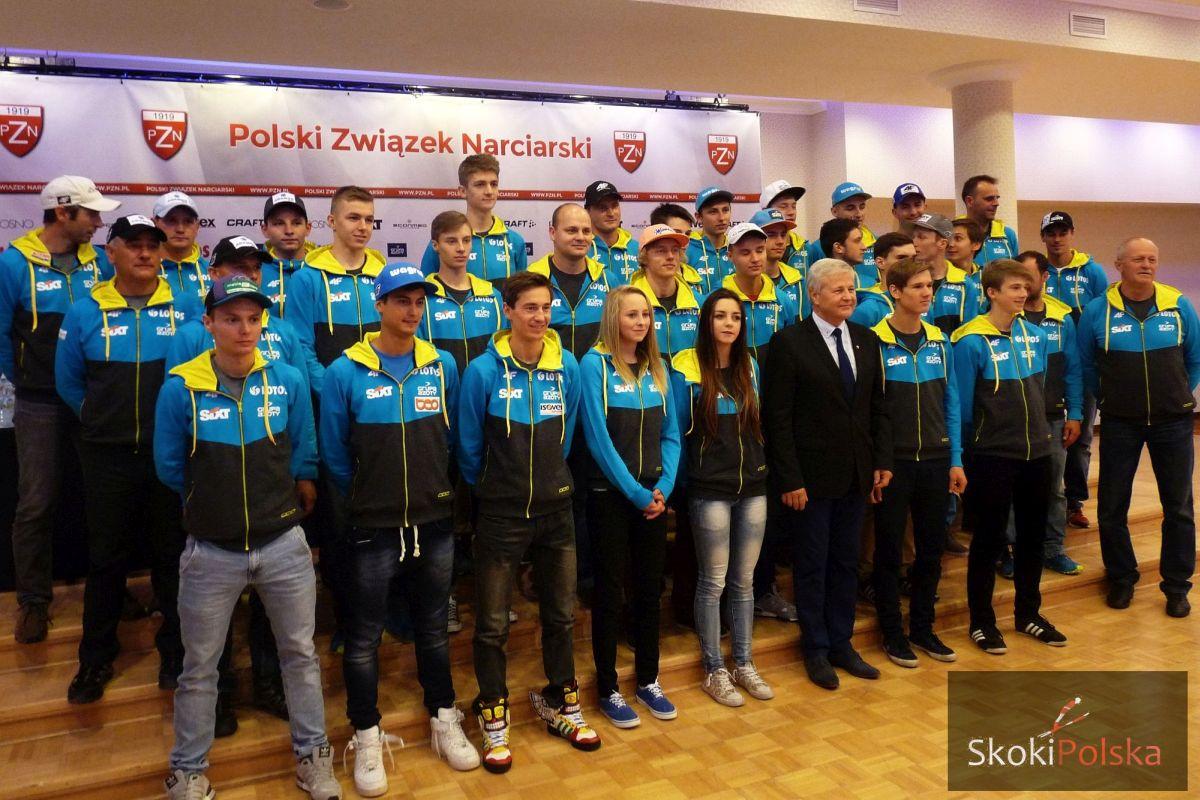 Polska kadra 2014 15 konferencja b.leja  - Oficjalna prezentacja polskich kadr na sezon 2014/2015