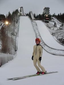 """Rautionaho Jenny fot.Jenny .Rautionaho.Twitter 225x300 - Po pierwszych """"zimowych"""" skokach w Rovaniemi, powrót Jenny Rautionaho"""