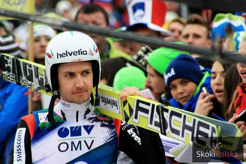 Pechowe kontuzje Szwajcarów, Ammann popracuje nad telemarkiem