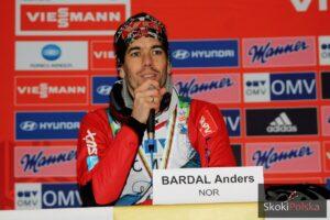 Anders Bardal już po udanej operacji
