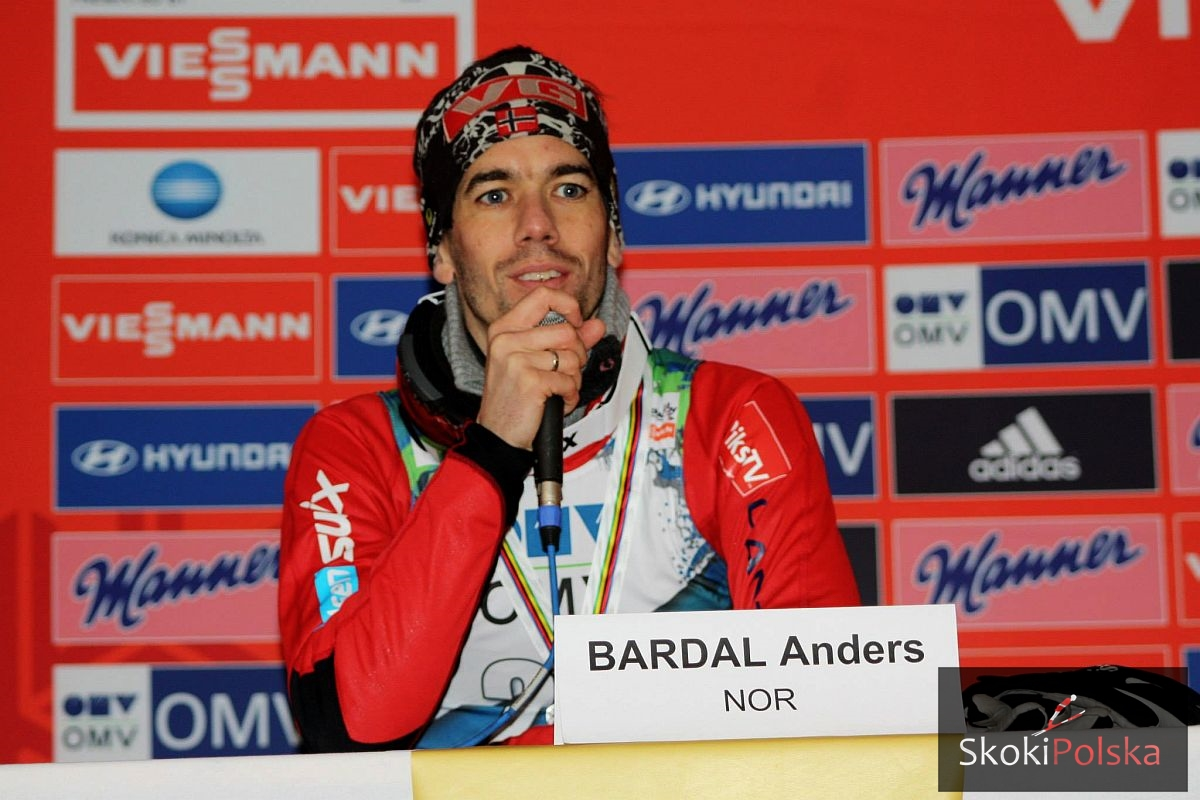 Anders Bardal wraca do treningów