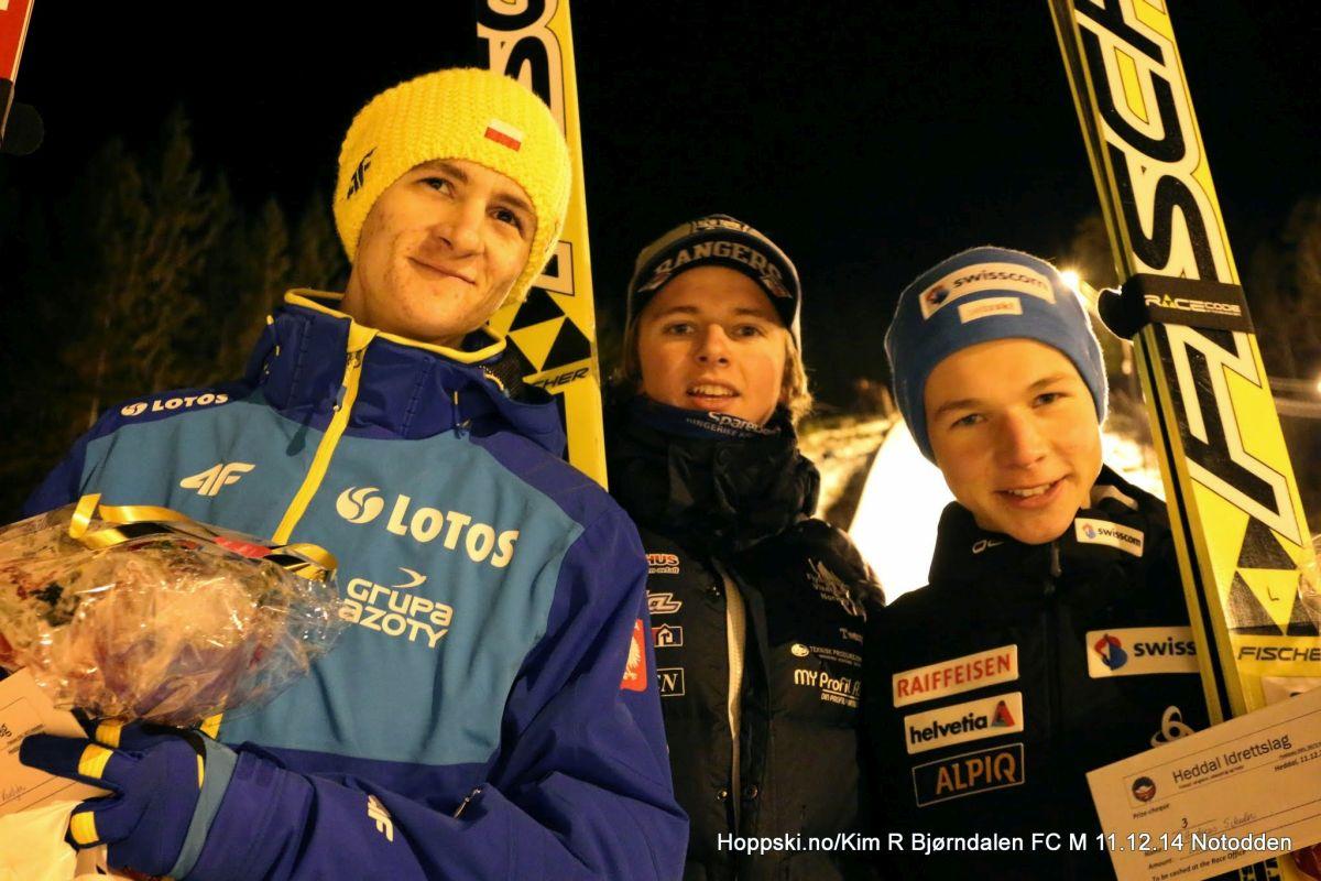 Kantyka Bjoereng Schuler fot.hoppski.no Kim.R.Bjoerndalen - FIS Cup Notodden: Bjoereng zwycięża, podium Kantyki !