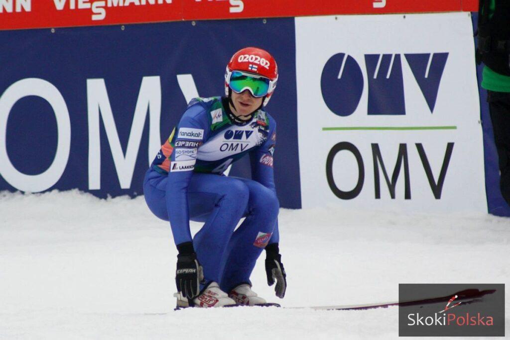 Ville Larinto zwycięża w pierwszym konkursie na śniegu w Rovaniemi