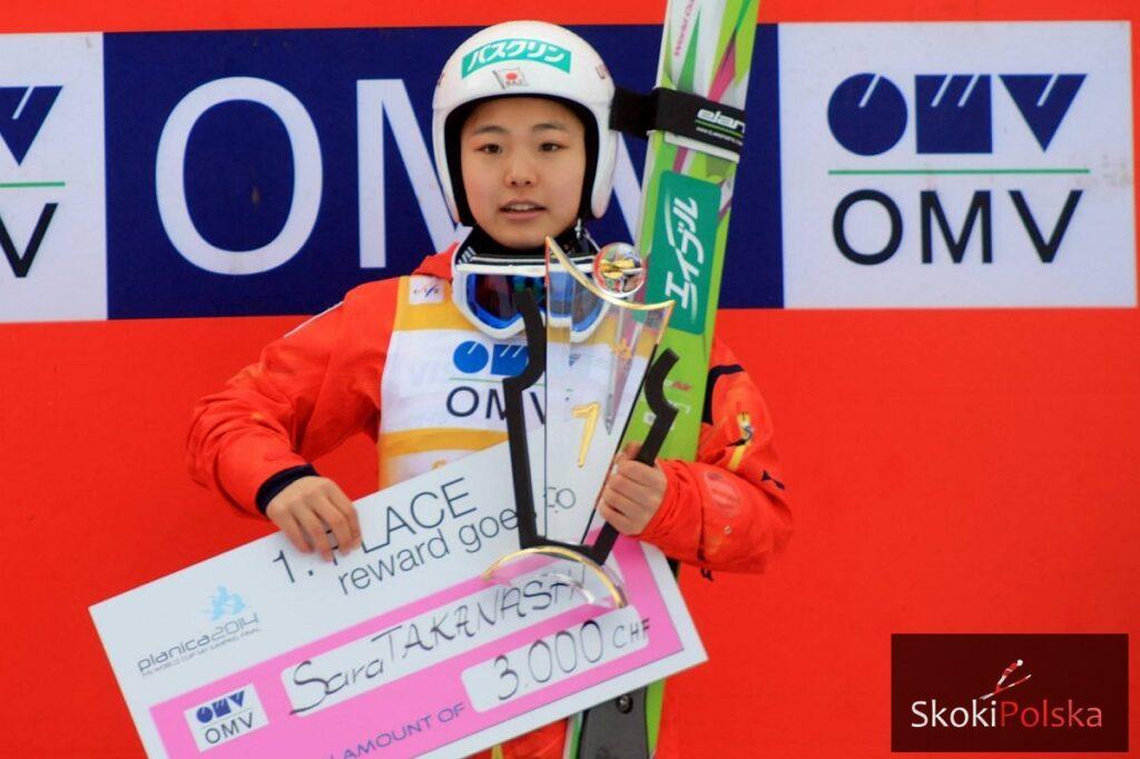 PŚ Pań Ljubno: Wygrana Takanashi, Hendrickson na podium