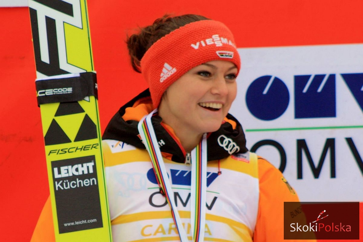 """Carina Vogt: """"Wygrana w Pucharze Świata była dla mnie ulgą"""""""