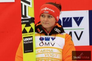 Carina Vogt, fot. Julia Piątkowska