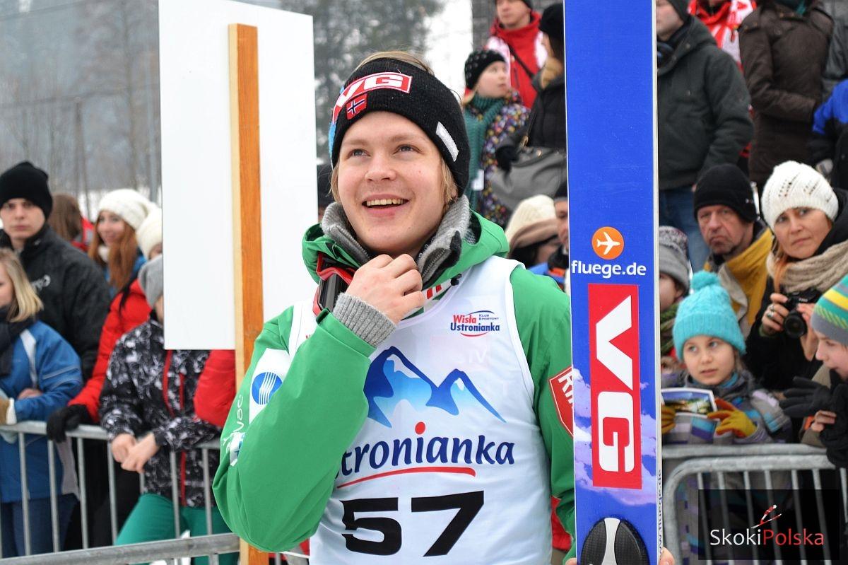 Zakopane: Pedersen Roensen prowadzi, Biegun tuż za nim