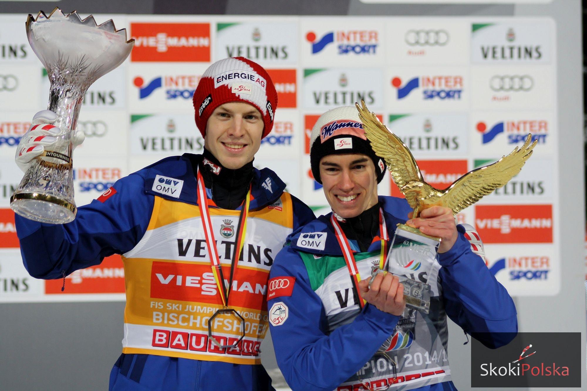 TCS: Hayboeck wygrywa w Bischofshofen, Kraft triumfuje w całym Turnieju!