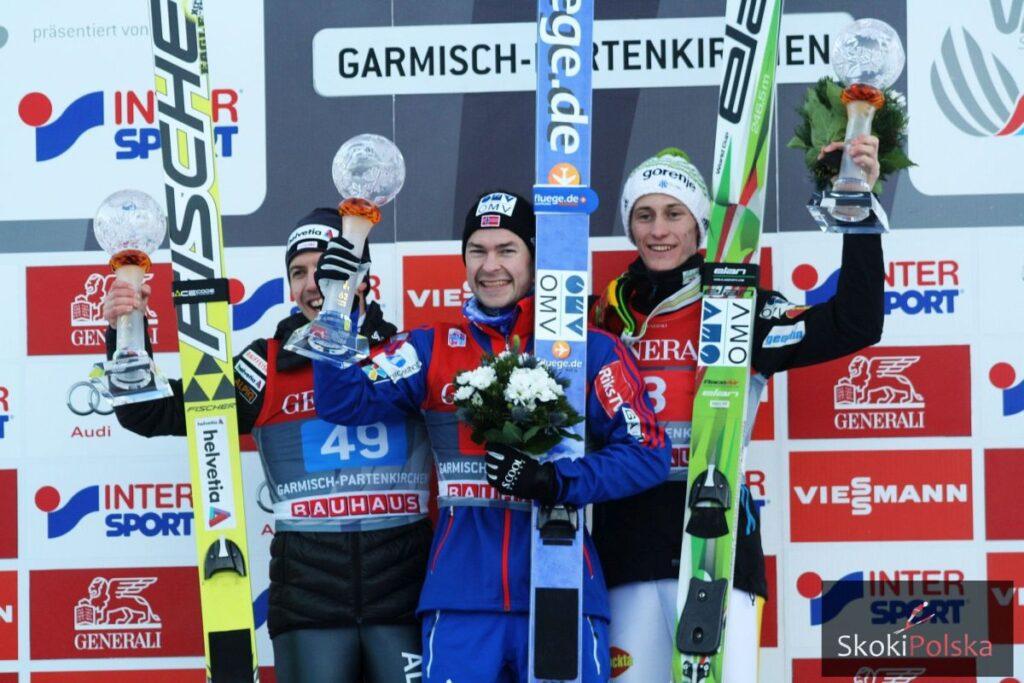 Jacobsen, Ammann i Prevc oceniają noworoczny konkurs w Ga-Pa