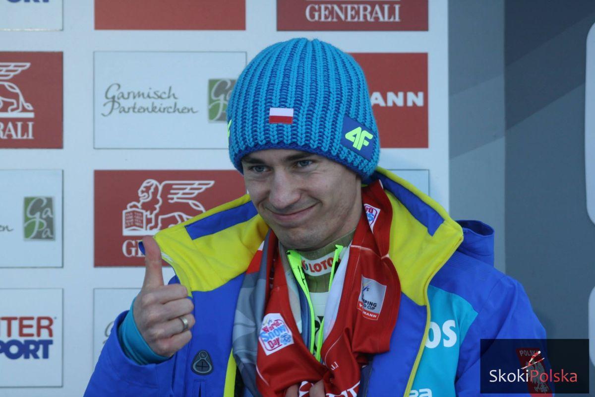 Stoch Kamil TCS.Ga Pa.2015 fot.J.Piatkowska - PŚ Lillehammer: Prevc na czele serii próbnej, Stoch czwarty!